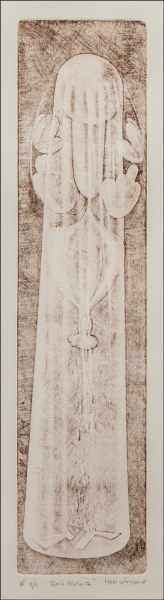 sepia etching / dimensions: 10 x 42 cm